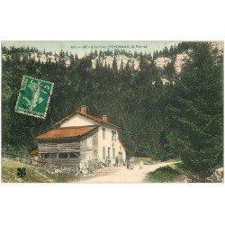 carte postale ancienne 01 Près Oyonnax. LE PERRET 1910