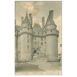 carte postale ancienne 37 LANGEAIS. Château Entrée 1905