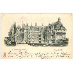 carte postale ancienne 37 LANGEAIS. Château Intérieur 1903