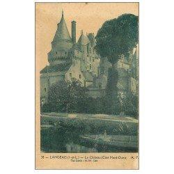 carte postale ancienne 37 LANGEAIS. Château Nord-Ouest