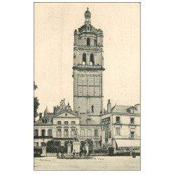 carte postale ancienne 37 LOCHES. Bureaux Chemins de Fer d'Orléans
