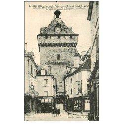 carte postale ancienne 37 LOCHES. La Porte Hôtel de Ville