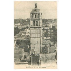carte postale ancienne 37 LOCHES. Tour Saint-Antoine