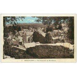 carte postale ancienne 37 MONTBAZON. Vue générale