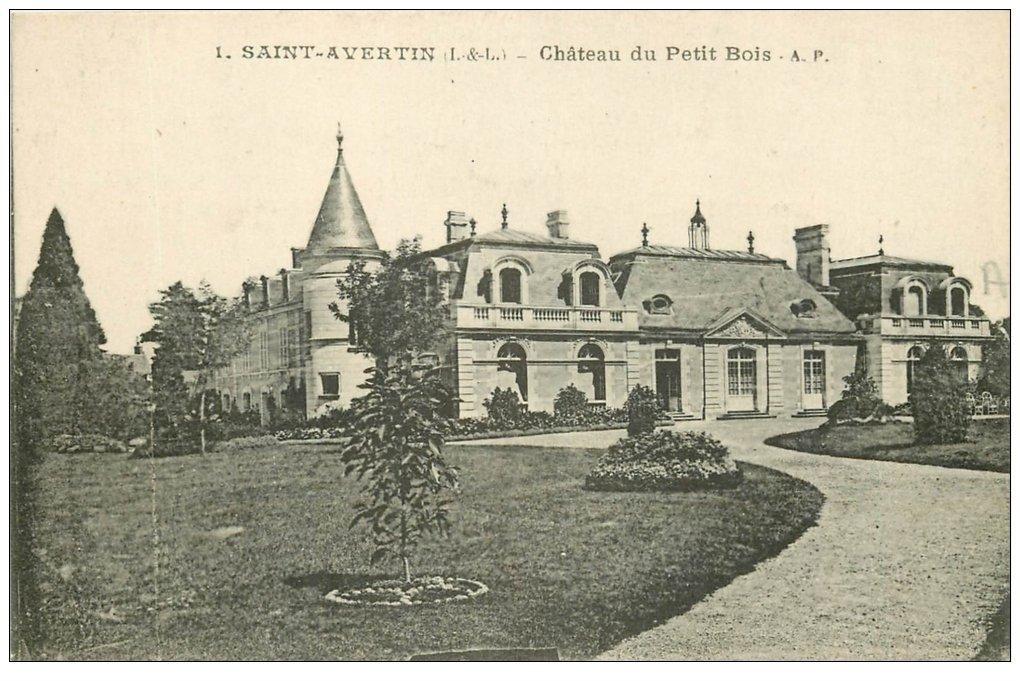 37 SAINT AVERTIN Ch u00e2teau du Petit Bois # Chateau Du Petit Bois