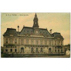 carte postale ancienne 37 TOURS. Ancien Hôtel de Ville 1910 GB3