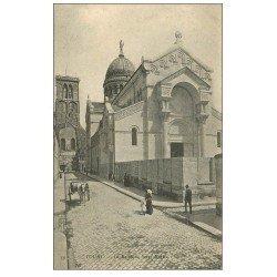 carte postale ancienne 37 TOURS. Basilique Saint-Martin