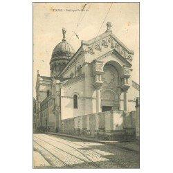 carte postale ancienne 37 TOURS. Basilique Saint-Martin 1906