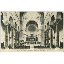 carte postale ancienne 37 TOURS. Basilique Saint-Martin 1931