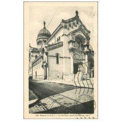 carte postale ancienne 37 TOURS. Basilique Saint-Martin 1937
