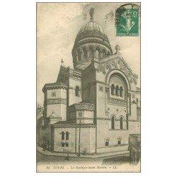 carte postale ancienne 37 TOURS. Basilique Saint-Martin 31