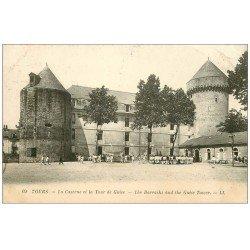 carte postale ancienne 37 TOURS. Caserne Tour de Guise 1922