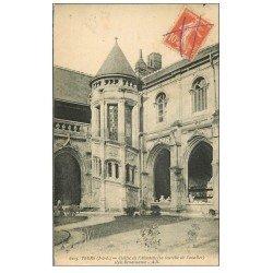 carte postale ancienne 37 TOURS. Cloître Absalette 1915
