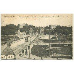 carte postale ancienne 37 TOURS. Côteaux de la Loire 1922