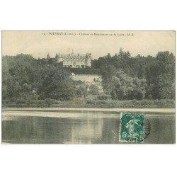 carte postale ancienne 37 VOUVRAY. Château Moncontour vers 1914