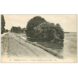 carte postale ancienne 37 VOUVRAY. Cisse jonction Loire