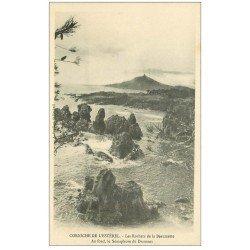 carte postale ancienne 06 BEAUMETTE. Les Rochers et Sémaphore du Dramont