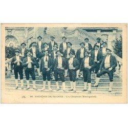 carte postale ancienne 65 BAGNERES-DE-BIGORRE. Les Chanteurs Montagnards