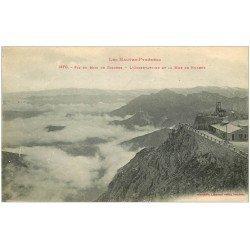 carte postale ancienne 65 BAGNERES-DE-BIGORRE. L'Observatoire 1919