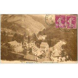 carte postale ancienne 65 GAVARNIE. Gorges de Luz 1934