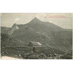carte postale ancienne 65 GAVARNIE. Le Picméné avec Refuge