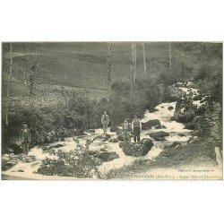 carte postale ancienne 65 GAVARNIE. Le Pont