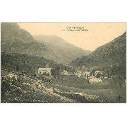 carte postale ancienne 65 GAVARNIE. Le Village