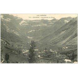 carte postale ancienne 65 GAVARNIE. Vue générale du Cirque 1909