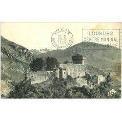 carte postale ancienne 65 LOURDES. Fort Vallée d'Argelès 1954