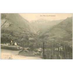 carte postale ancienne 65 LUZ et MAUCAPERA 1906