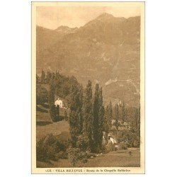 carte postale ancienne 65 LUZ. Route de la Chapelle Solferino