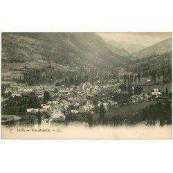 carte postale ancienne 65 LUZ-SAINT-SAUVEUR. Vue générale 1927