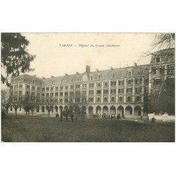 carte postale ancienne 65 TARBES. Hôpital du Grand Séminaire 1919