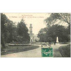 carte postale ancienne 65 TARBES. Jardin Massey et Muséum 1912