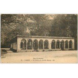 carte postale ancienne 65 TARBES. Le Cloître du Jardin Massey 1936