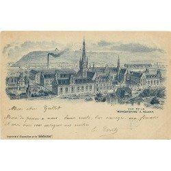 carte postale ancienne 76 FECAMP. La Bénédictine 1901