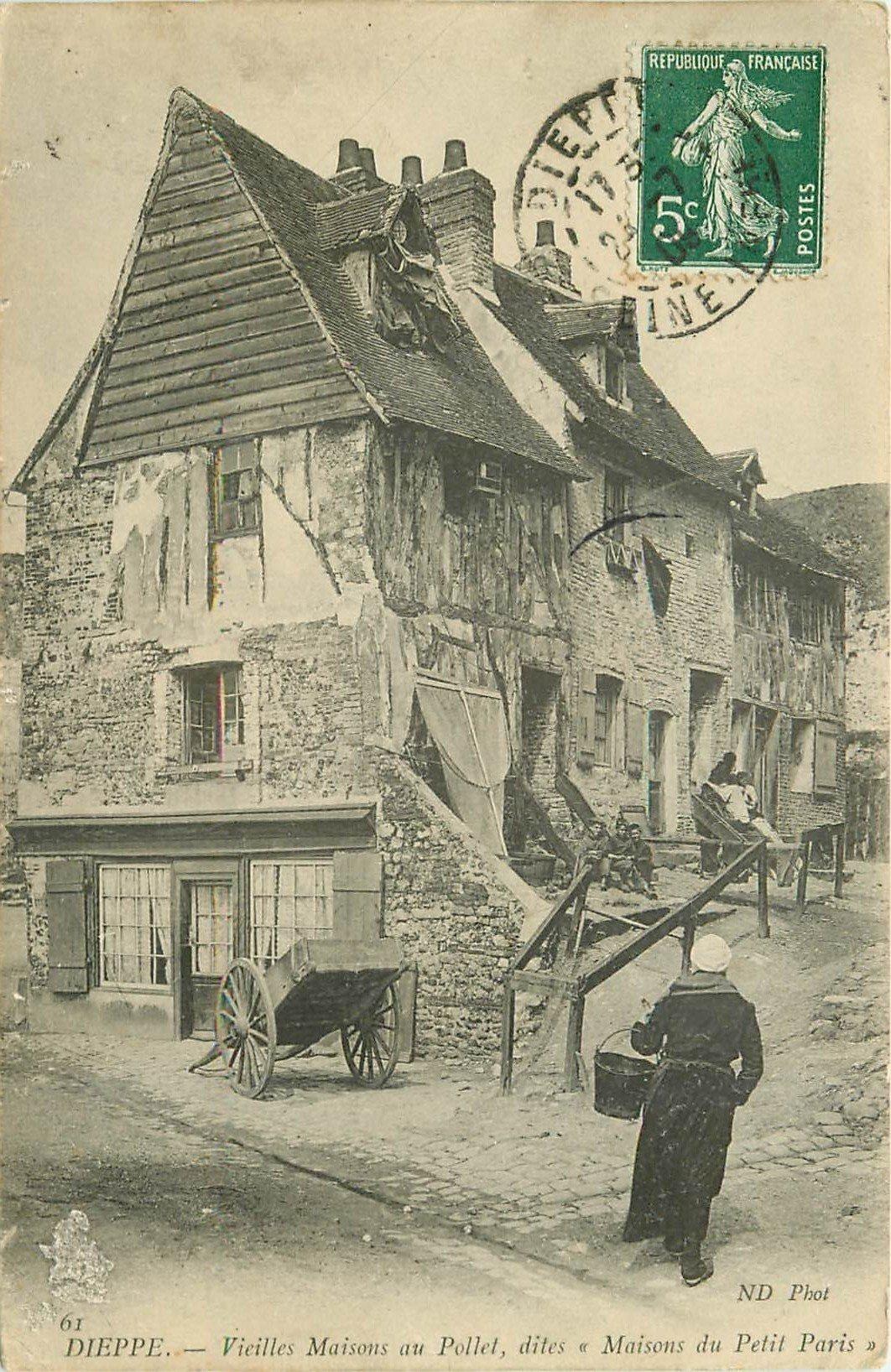 76 dieppe maisons du petit paris 1909 for Ancienne maison close paris