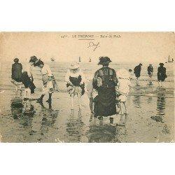 carte postale ancienne 76 DIEPPE. Bains de Pieds