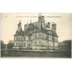 carte postale ancienne 76 ANGERVILLE-BAILLEUL. Château