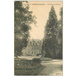 carte postale ancienne 76 ARQUES-LA-BATAILLE. Château de l'Abbaye