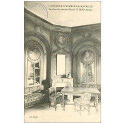 carte postale ancienne 76 ARQUES-LA-BATAILLE. Château Pavillon chasse Henri IV