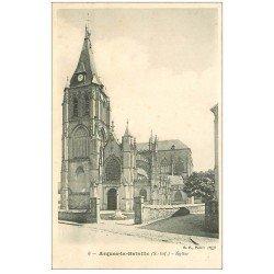 carte postale ancienne 76 ARQUES-LA-BATAILLE. Eglise 6