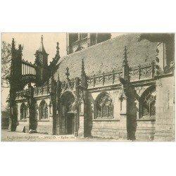 carte postale ancienne 76 ARQUES-LA-BATAILLE. Eglise côté Sud