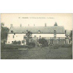 carte postale ancienne 76 AUMALE. Château du Bois-Robin La Galerie cycliste
