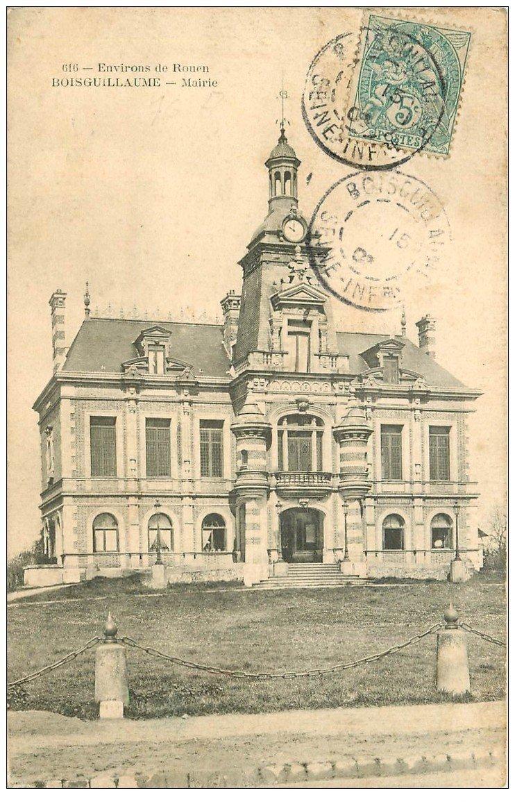 76 BOISGUILLAUME Mairie 1905 ~ Ville De Bois Guillaume