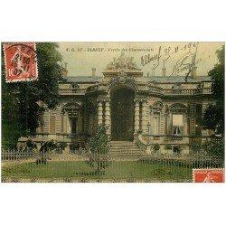 carte postale ancienne 76 ELBEUF. Cercle des Commerçants 1907