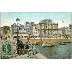 carte postale ancienne 76 LE HAVRE. Anse des Pêcheurs 1916