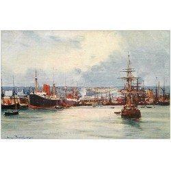 carte postale ancienne 76 LE HAVRE. Bassin de l'Eure par Bourgeois