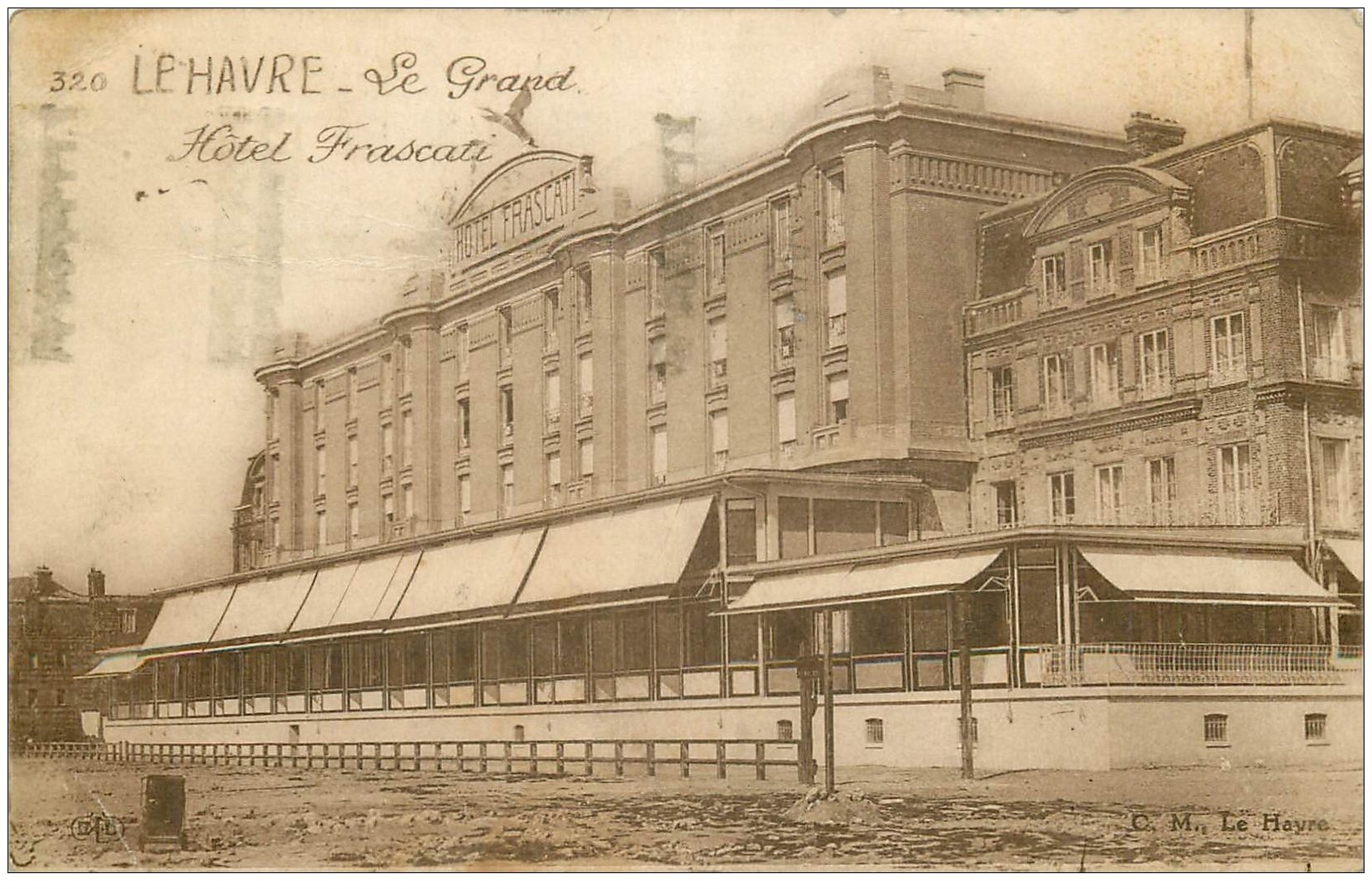 76 le havre le grand h tel frascati 1932 for Boutique hotel le havre