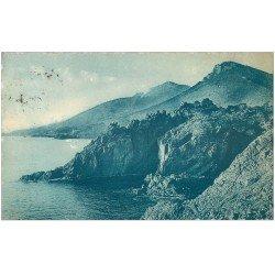 carte postale ancienne 06 De la Figueirette au Trayas 1922